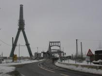 Abriss Berliner Brücke, Foto Halle